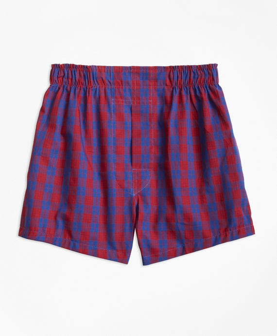 Holiday Plaid Boxers