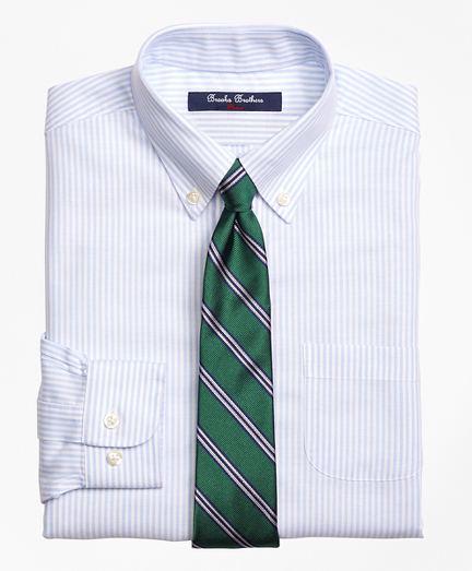 Non-Iron Supima® Cotton Oxford Stripe Dress Shirt
