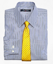 Non-Iron Supima® Cotton Broadcloth Candy Stripe Dress Shirt