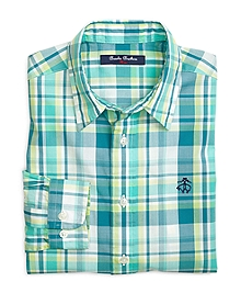 Multiplaid Sport Shirt
