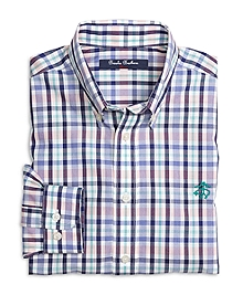 Cotton Multiplaid Sport Shirt