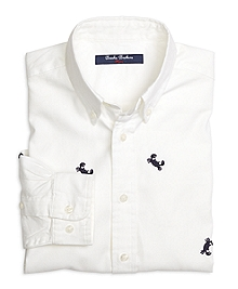 Cotton Embroidered Sport Shirt