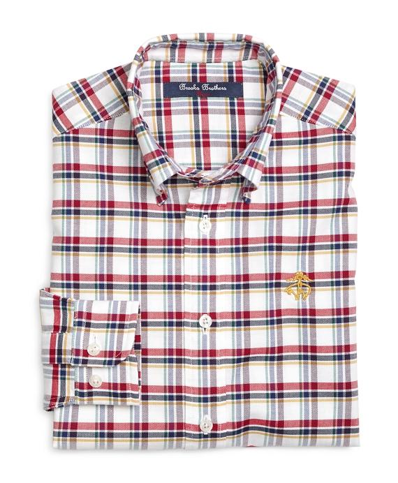 Cotton Oxford Check Sport Shirt