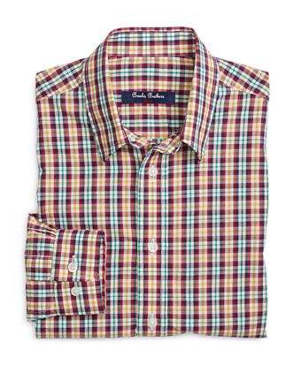 Multi Mini Tattersall Sport Shirt