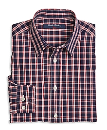 Non-Iron Tattersall Sport Shirt