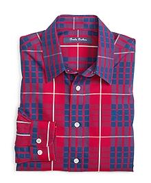 Non-Iron Tartan Sport Shirt