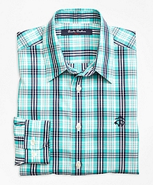 Non-Iron Multi Check Tattersall Sport Shirt