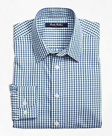 Non-Iron Mini Check Tattersall Sport Shirt