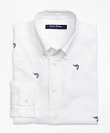 Embroidered Sport Shirt