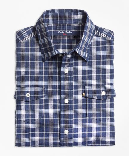 Classic Check Flannel Sport Shirt