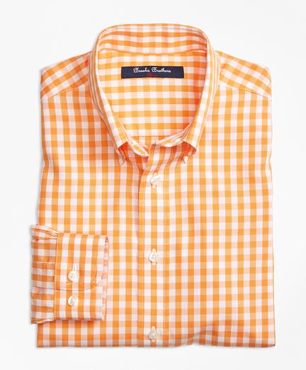 Non-Iron Gingham Sport Shirt