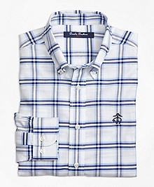 Non-Iron Supima® Cotton Plaid Sport Shirt