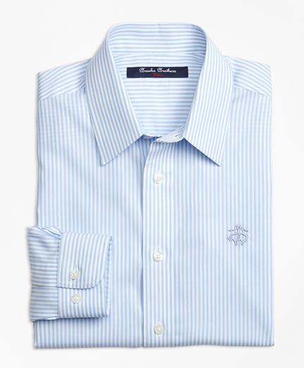 Non-Iron Club Stripe Sport Shirt