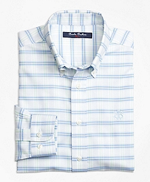 Non-Iron Supima® Cotton Check Sport Shirt
