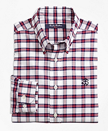 Non-Iron Supima® Cotton Check Sport Shirt