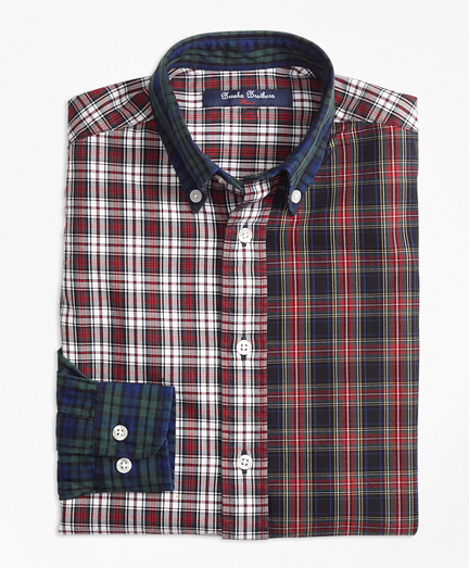 Oxford Plaid Fun Shirt