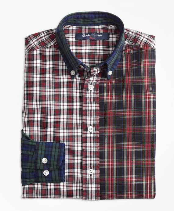 Oxford Plaid Fun Shirt Multi