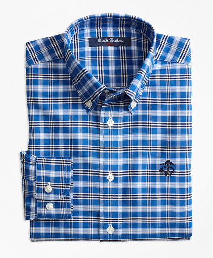 Non-Iron Supima® Cotton Tattersall Sport Shirt