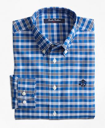 Non-Iron Supima® Cotton Tattersall Sport Shirt