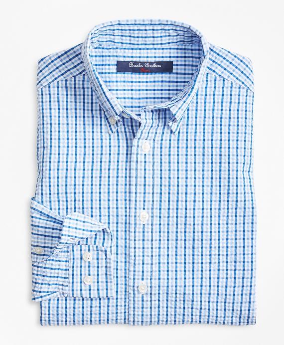 Cotton Seersucker Sport Shirt