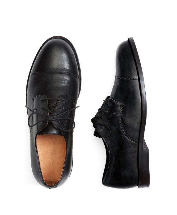 Captoe Lace-Ups Black