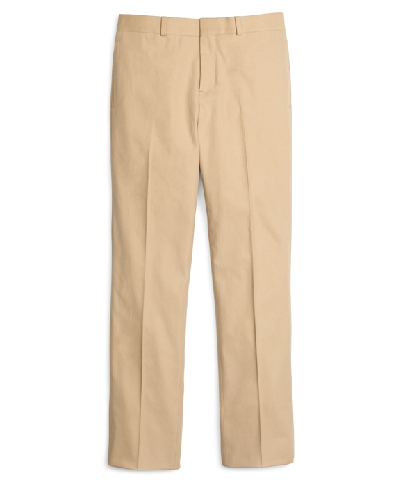 Khaki Cotton Twill Prep Suit Pants Khaki