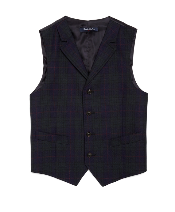 Deco Holiday Vest Black-Green
