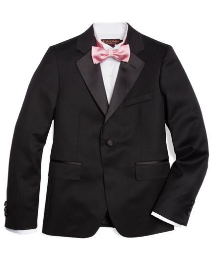 One-Button Tuxedo Prep Jacket