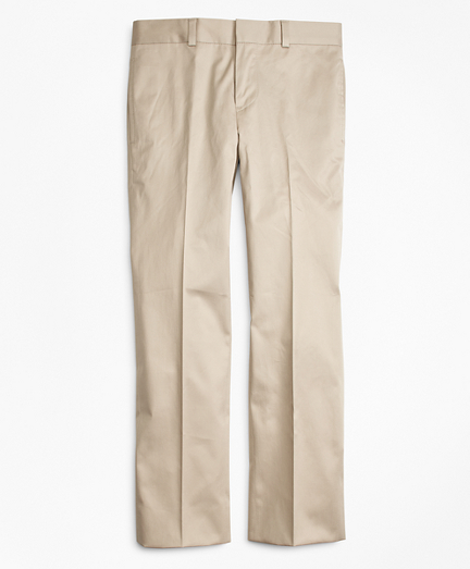 Cotton Poplin Junior Suit Trousers