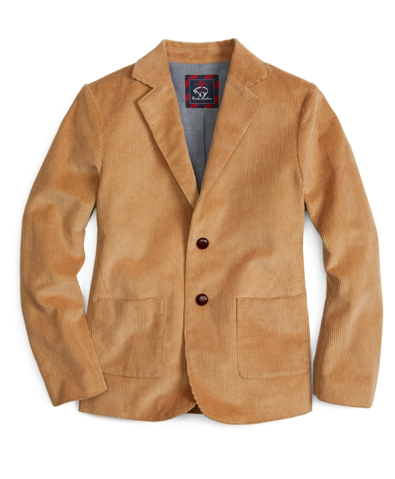 Corduroy Sport Coat Tan