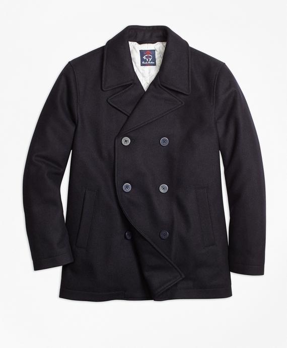 Melton Pea Coat