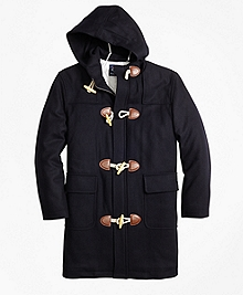 Melton Toggle Coat