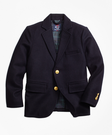 Wool Melton Blazer