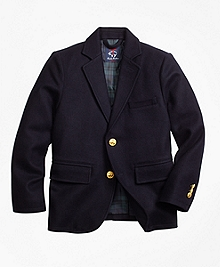 Wool Melton Blazer
