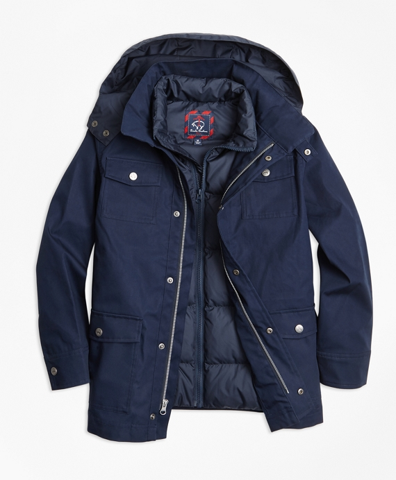 Two in One Anorak Navy