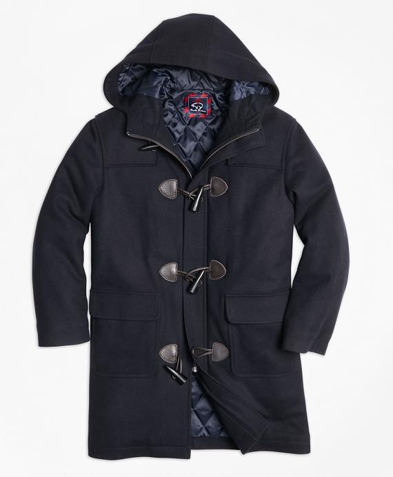 Melton Toggle Coat