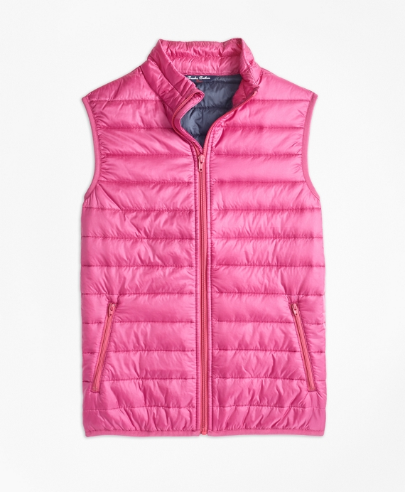 Puffer Vest Pink