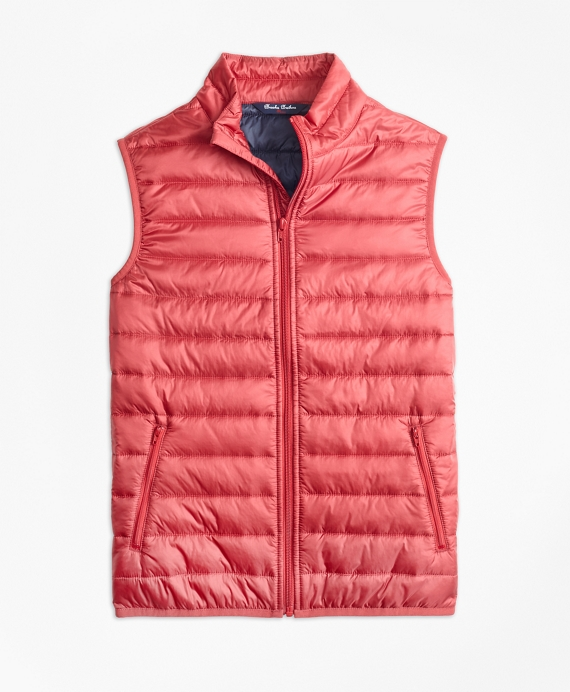 Puffer Vest Red