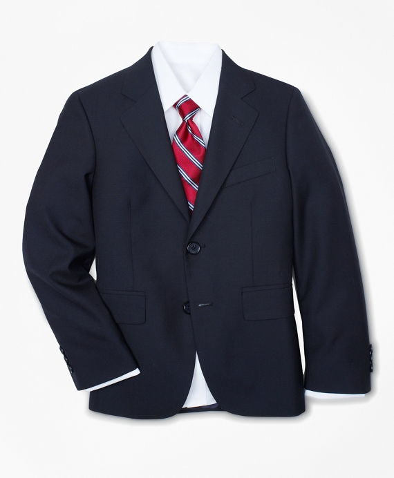 Two-Button BrooksEase Junior Jacket Navy
