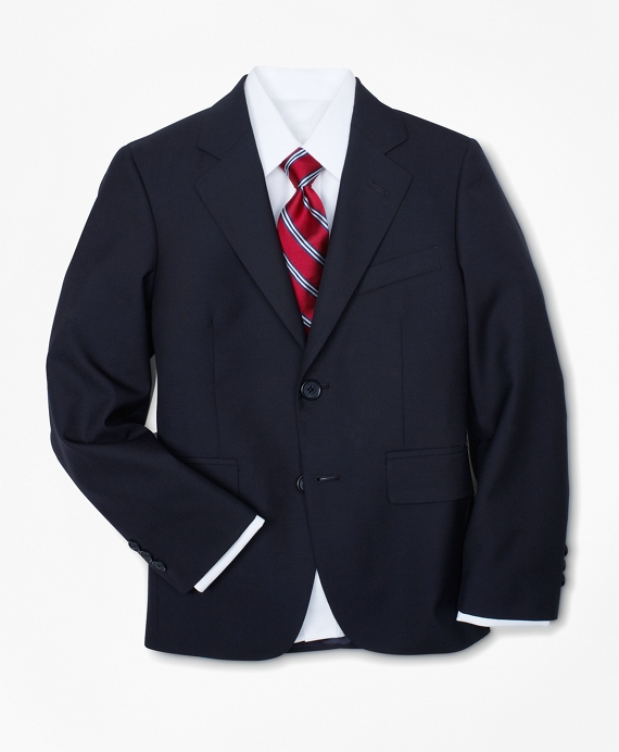 Two-Button BrooksEase Prep Jacket Navy