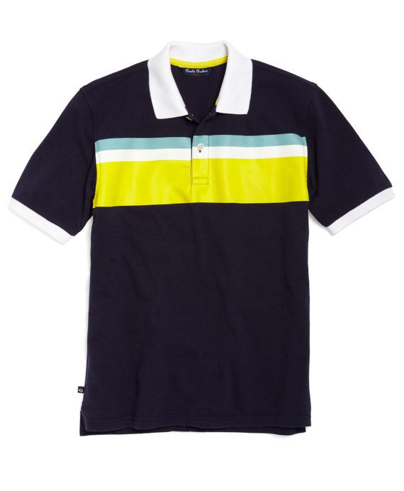Engineered Polo Navy
