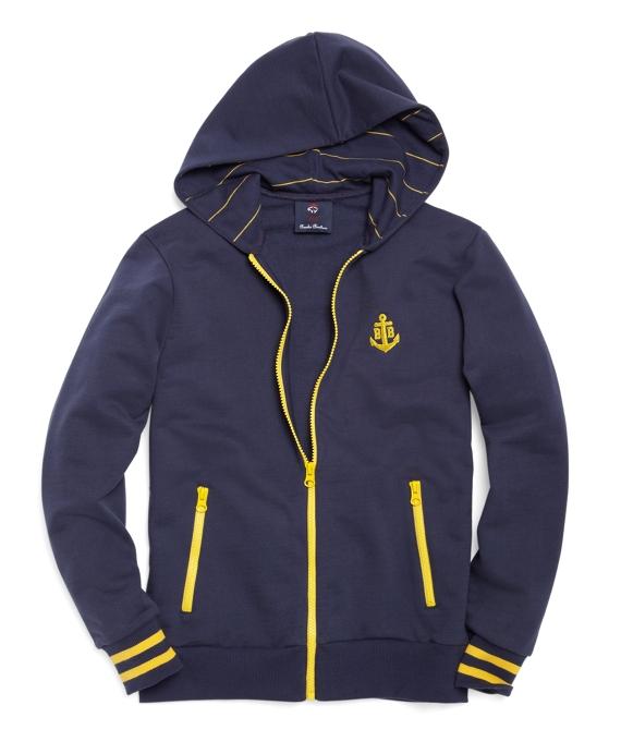 Full-Zip Hoodie Navy