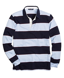 Large Stripe Polo