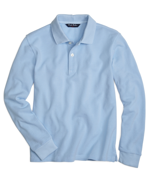 Long-Sleeve Polo Shirt
