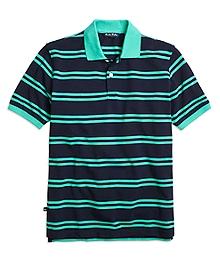 Double Stripe Polo Shirt