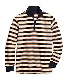 Stripe Half-Zip Rugby