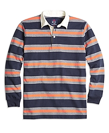 Classic Cotton Stripe Rugby