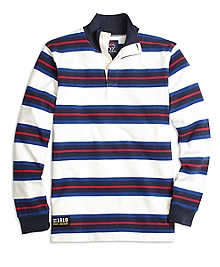 Variegated Stripe Cotton Rugby