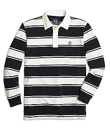 University Stripe Cotton Rugby