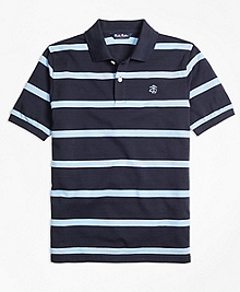 Cotton Stripe Polo